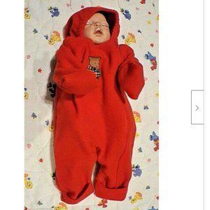 Carter's 0-6 Months to 18 lbs Fleece Snowsuit Bunt